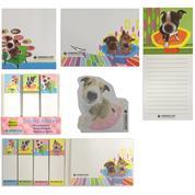 Αυτοκόλλητα χαρτάκια σημειώσεων σκυλάκια 6 σχέδια
