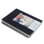 Talens Scetch book σπιράλ μαύρο 80φυλ. 14x21εκ. 110 γρ.