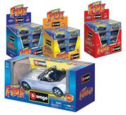 "Burago αυτοκινητάκια μεταλλικά ""Street fire"" 1/43  24 τεμάχια"