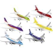 Goki αεροπλάνα μεταλλικά μινιατούρες 18,5εκ.