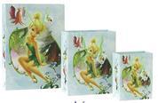 """Χάρτ. τσάντα Υ45,7x33x10,2 glossy """"Fairies flower"""""""
