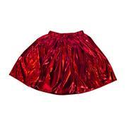 Φούστα μεταλλιζέ κόκκινη