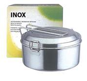 Φαγητοδοχείο inox-2 θέσεις & διάμετρο14εκ.