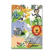 """Next φάκελος λάστιχο """"Ζώα της ζούγκλας"""" Υ35x25εκ."""