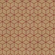 """Next χαρτί περιτυλίγματος κραφτ """"geometric"""" 20 φύλλα 70x100εκ. 70γρ."""