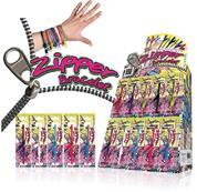 """Βραχιόλι με φερμουάρ """"Zipper"""" 19.5εκ. σε 10 χρώματα"""