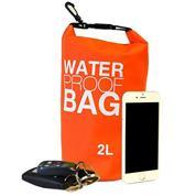 Αδιάβροχη τσάντα 2l. διάφορα χρώματα