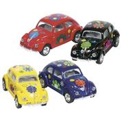 """Goki αυτοκινητάκια μεταλλικά """"Beetle"""" VW 6,5εκ. 4 χρώματα"""