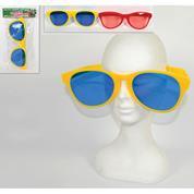 Γυαλιά γίγας αποκριάτικα διαφ.χρώματα