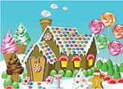 "Next παζλ ""Το ζαχαρένιο σπίτι"" 25x35εκ. 30 τεμαχίων"