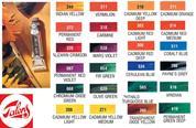 Talens van gogh χρώματα λαδιού 20ml (σειρά Β')