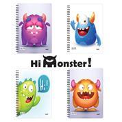Next hi monster! τετράδια σπιράλ