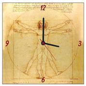 """Ρολόι χάρτινο """"Da Vinci"""""""