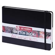 Talens Sketch book μαύρο 80φυλ. 21x15εκ. 140 γρ.