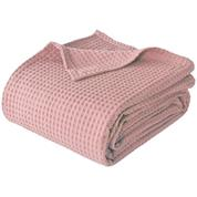 """Κουβέρτα """"Pablo"""" πικέ 100% βαμβακερή 220x240εκ. ροζ-λιλά"""