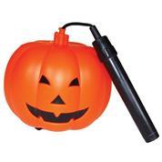 """Φανάρι Halloween, πλαστικό 'Κολοκύθα"""", 10,5x10 εκ."""