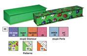"""Next σκληρό κουτί λαμπάδας μεγάλο """"πεταλούδες"""" 46x12x8εκ."""