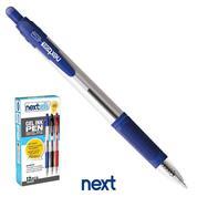 Νext στυλό gel pen με κουμπί μπλε 0.7mm