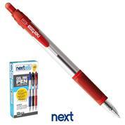 Νext στυλό gel pen με κουμπί κόκκινο 0.7mm