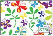 "Next χαρτί περιτυλίγματος 16 φύλλα 70x100εκ. ""πολύχρωμες πεταλούδες"""