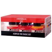 Talens Amsterdam acrylic ink 30ml, 6χρωμάτων