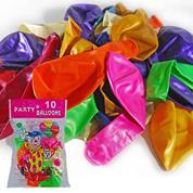 Μπαλόνια περλέ Ø30εκ, 10 χρώματα κοκτέηλ