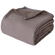 """Κουβέρτα """"Pablo""""  πικέ 100% βαμβακερή 220x240εκ. μπεζ-καφέ"""