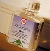 Talens acrylic remover 013