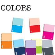 Next colors τετράδια σπιράλ