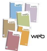 Next web τετράδια σπιράλ