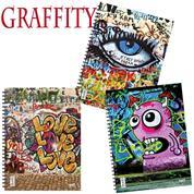 Next graffiti τετράδια σπιράλ