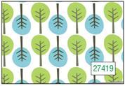 "Next χαρτί περιτυλίγματος 16 φύλλα 70x100εκ. ""δέντρα"""
