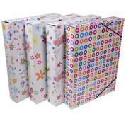 Νext κουτιά με λάστιχο patterns Υ33.5x25x5εκ.