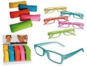 Γυαλιά πρεσβυωπίας χρωματιστά με πλαστικό σκελετό