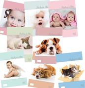 "Next τετρ. καρφίτσα ""Babies & pets"" 17x25εκ. 50φυλ."