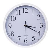 Ρολόι τοίχου Ø22εκ. λευκό