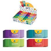 """Adel σβήστρα """"Colourful"""", 7,5x2.8x1 εκ."""