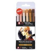 Sakura Koi Portrait brush markers σετ 6 τεμ.