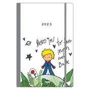Next ημερήσιο ημερολόγιο, flexi, λάστιχο, Little prince, 14x21εκ.