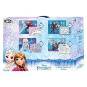 Luna παζλ χρωματισμού Frozen 2, 2 όψεων 4 σε 1, 20-24-36-48 τεμ., 30x40εκ.