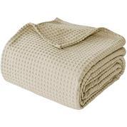 """Κουβέρτα """"Pablo"""" πικέ 100% βαμβακερή 160x240εκ. μπεζ"""
