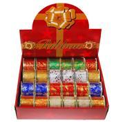 Κορδέλες χριστουγ. 5εκ. x2,7μέτρα 7 χρώματα
