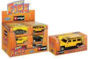 "Burago αυτοκινητάκια μεταλλικά ""Street fire"" 1/32  18 τεμάχια"
