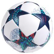 Μπάλα ποδοσφαίρου θερμοκολλητική αγώνων μπλε-λευκή επαγγελματική