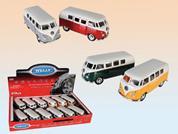 """Λεωφορεία μεταλλικά """"VW1963"""" 7,5εκ. σε 3 σχέδια"""
