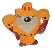 """Αρκουδάκι """"Ταζ"""" με καπέλο 24εκ."""