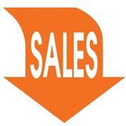 "Next αφίσα ""Βέλος Sales"" για βιτρίνες 34x32εκ."