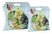 """Χάρτ. τσάντα κουτί Υ39,5x38,5x7.5 mat """"Fairies flower"""""""