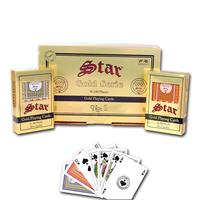 Star τράπουλα πλαστική κόκκινη