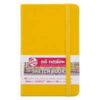 Talens Sketch book κίτρινο 80φυλ. 9x14εκ. 140γρ.